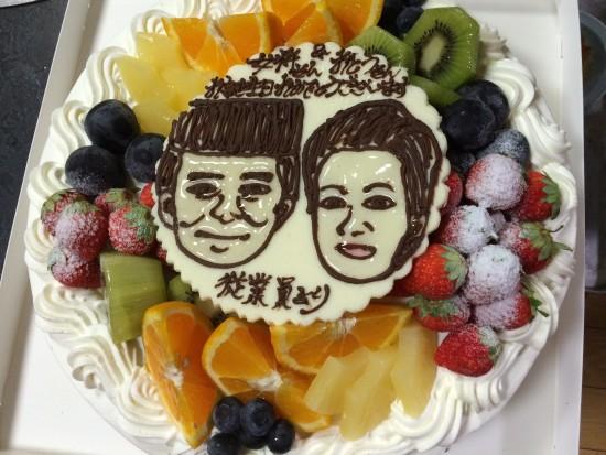 27年8月31ケーキ