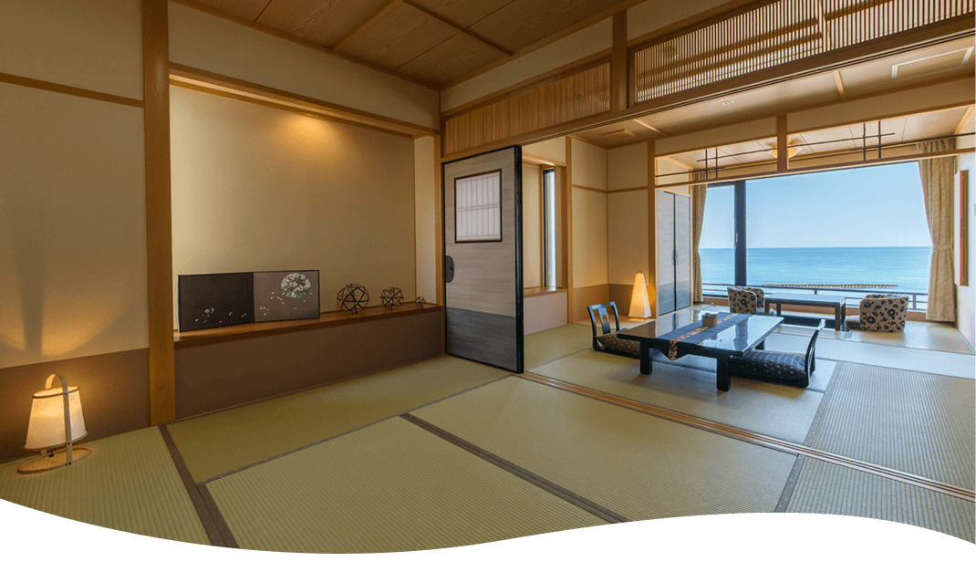 Two-room type Japanese-style room